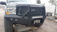 1999-2004 Ford Excursion Front Base Bumper - Iron Bull Bumpers
