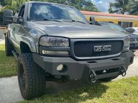 1999-2002 GMC 1500 Front Base Bumper (5 OR 6 LUG ONLY)