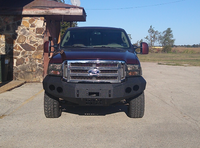 2005-2007 Ford F-250/350 Front Base Bumper