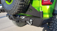 2019-2025 Jeep JL Wrangler Rear Base Bumper with Sensors