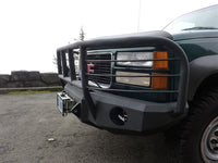 1988-2000 GMC 2500/3500 Front Base Bumper - Iron Bull Bumpers