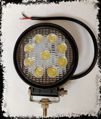 ACCESSORY 4 Inch Round LED Light