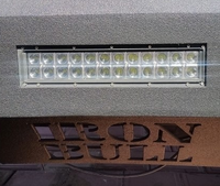 ACCESSORY 12 & 20 Inch Straight LED Light Bar - Iron Bull Bumpers