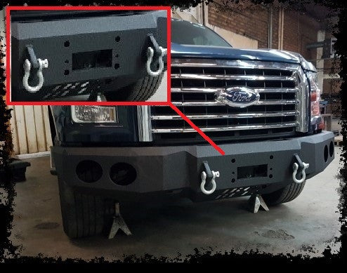 ADD-ON Winch Plate