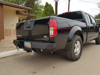2005-2017 Nissan Frontier Rear Base Bumper Without Sensor Holes - Iron Bull Bumpers - REAR IRON BUMPER - Metal bumper for heavy duty trucks Perfect for CITY/OFF-ROAD applications with Light Buckets and Winch Mount included