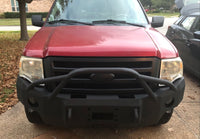 2007-2014 Ford Expedition Front Base Bumper With Sensors Holes
