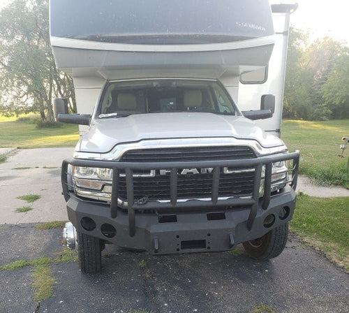2019-2022 Dodge 2500/3500 Front Base Bumper With Sensor Holes