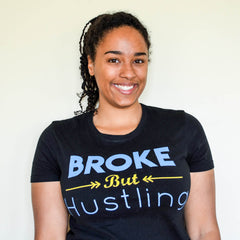Jenn, Broke But Hustling Bio Picture