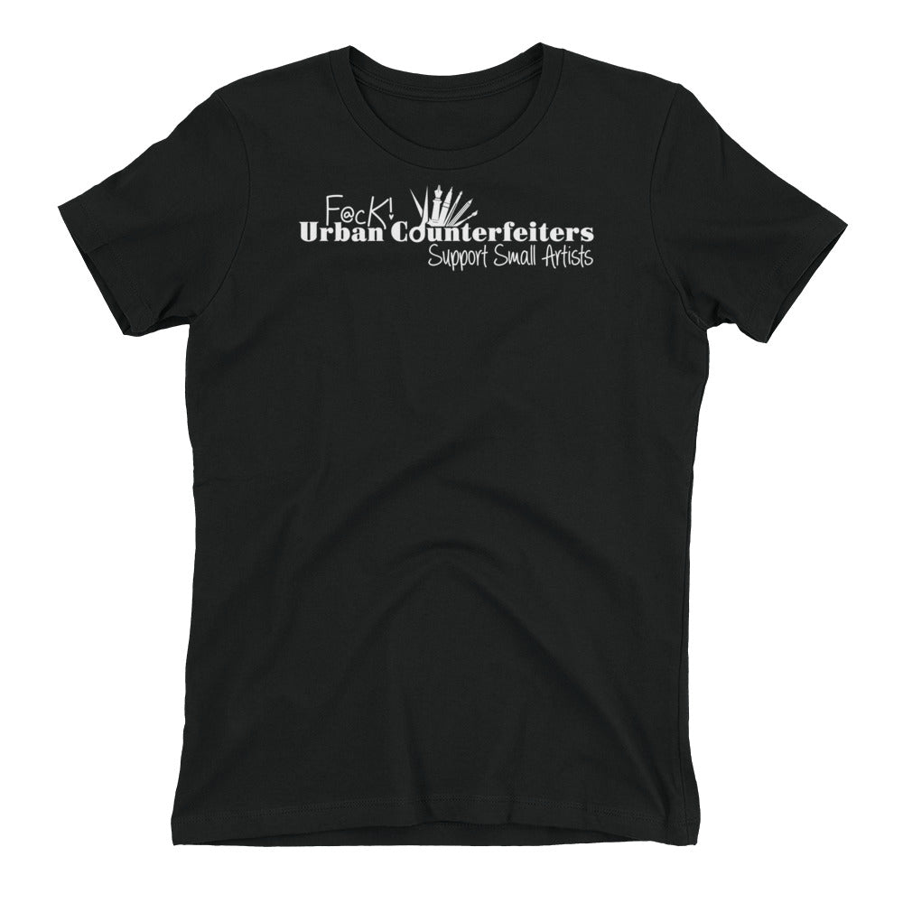 Counterfeiters - Short Sleeve Women's T-shirt - Dark Tees