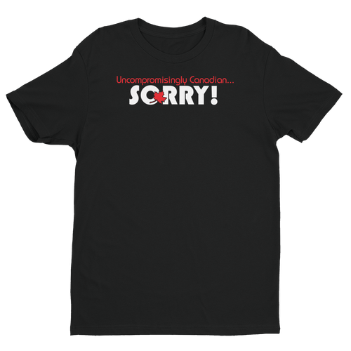 Sorry! - Short Sleeve Men's T-shirt - Dark Tees