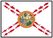 Florida Fish Flag