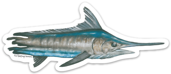 Marlin Decal