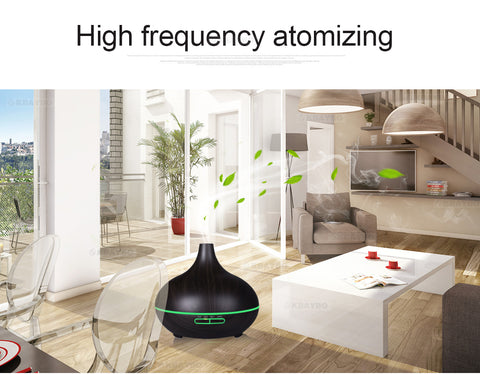 Air Humidifier Essential Oil Diffuser