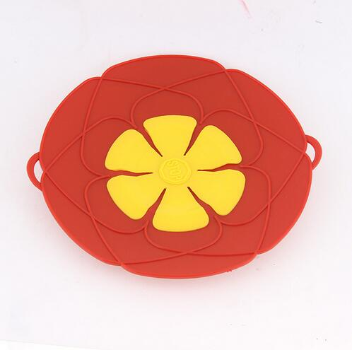 Silicone lid Spill Stopper Cover