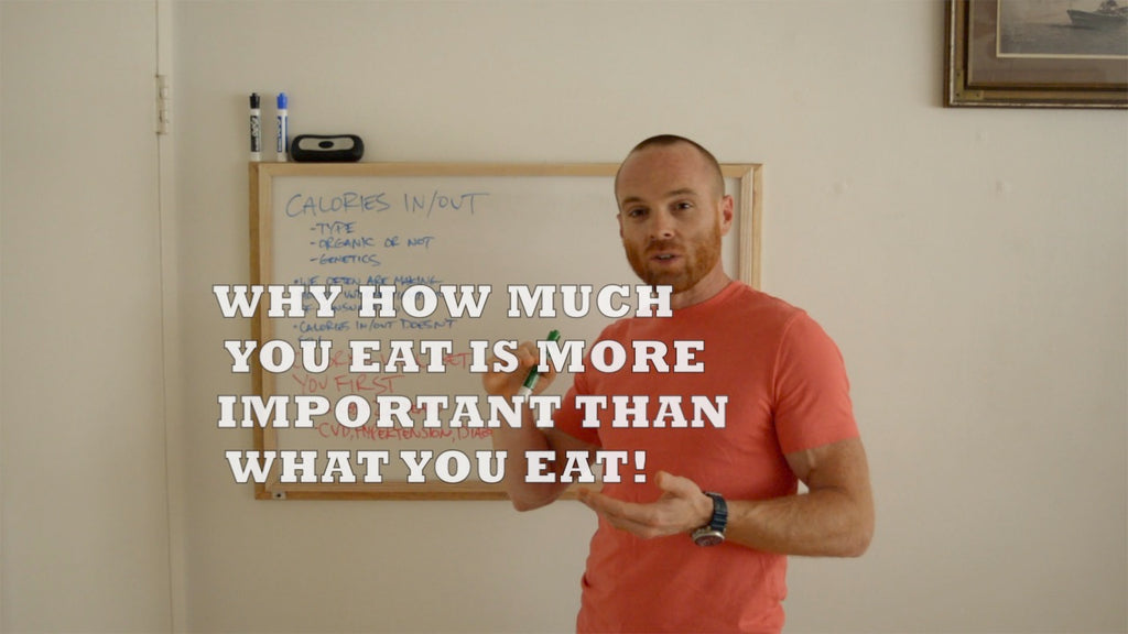 Why how much you eat is more important than what you eat (VIDEO)