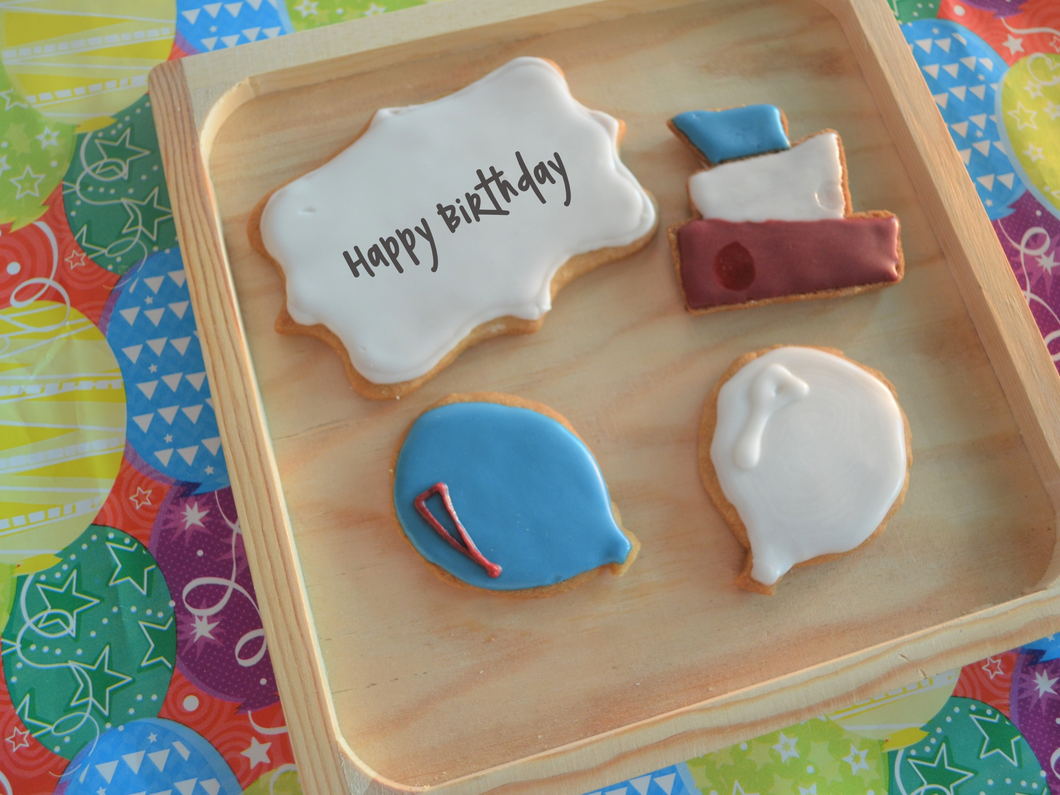 Birthday Cookie Favors