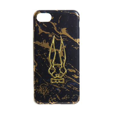 Black-Gold Marble Phone Case