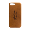 Leather Embossed Tan Phone Case
