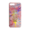 Holographic Marble Pink Phone Case