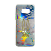 Holographic Marble Blue Phone Case