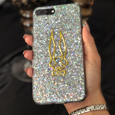 Sequin Clear Luxury Phone Case