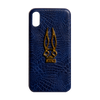 24k Alligator Blue Luxury Phone Case