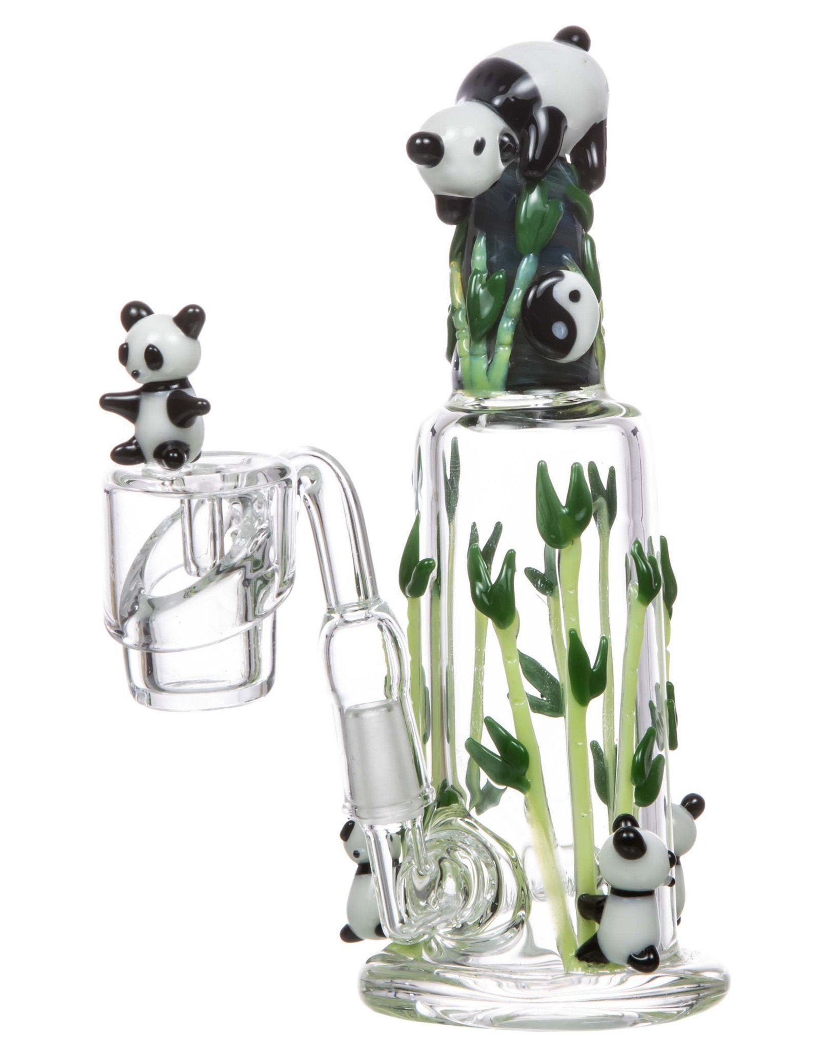 Panda Themed Mini Dab Rig