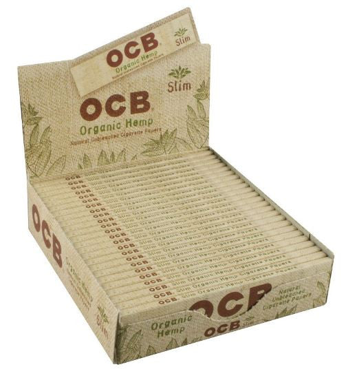 OCB® Organic Hemp Rolling Papers - Slim