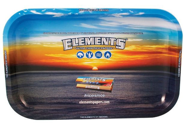 Elements High Sided Rolling Tray