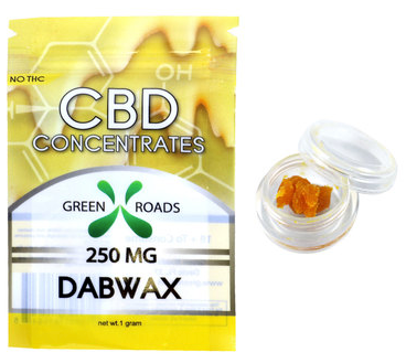 CBD Dab Wax 250MG - 1 Gram