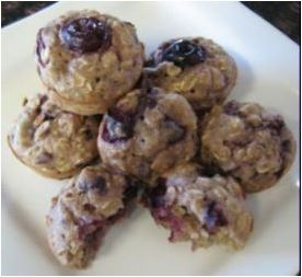 @CBDforyouandme's Infused Blueberry Oatmeal Muffin Dog Treats