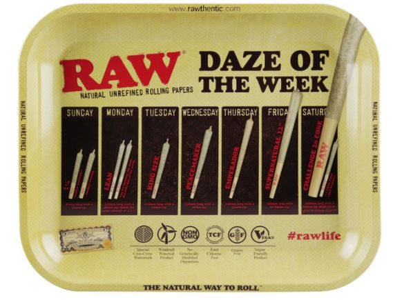 Daze of the Week Raw Rolling Tray