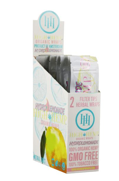 High Hemp CBD Wraps - Hydro Lemonade