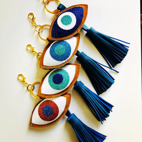 Evil Eye Bag Accessorie Keyring