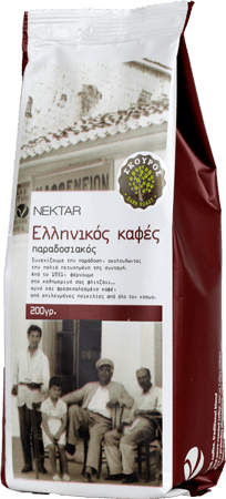 Dark Roasted Greek Coffee