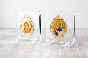 Plexiglass Icon with Gold Mirror JUST ARRIVED