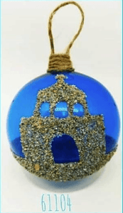 Glass Baubles Churches IN STOCK NOW