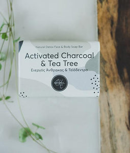 Activated Charcoal & Tea Tree Soap Bar