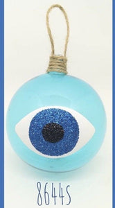 Glass Baubles Mati Evil Eye IN STOCK NOW