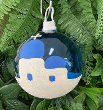 Load image into Gallery viewer, Glass Baubles Santorini and Milos IN STOCK NOW