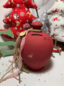 Pomegranate Money Boxes Decorated