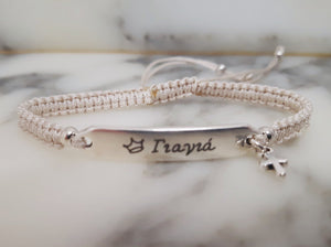 Macrame Bracelets Cross - Personalised