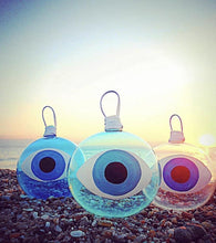 Load image into Gallery viewer, Glass Baubles Mati Evil Eye IN STOCK NOW