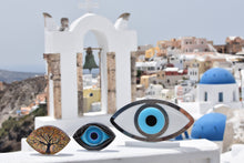 Load image into Gallery viewer, Evil Eye Santorini