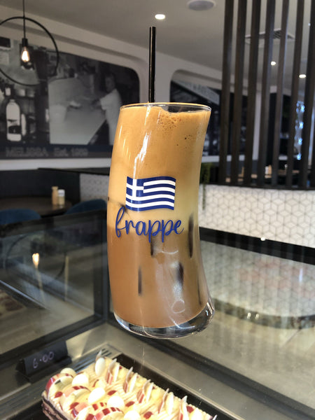Wave Frappe Glass