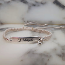 Load image into Gallery viewer, Macrame Bracelets Cross - Personalised