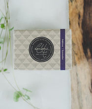 Load image into Gallery viewer, Lavender & Almond Oil Soap Bar