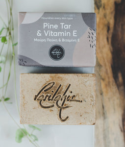 Pine Tar & Vitamin E Soap Bar