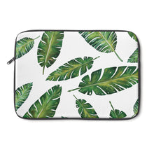 falling leaves laptop sleeve