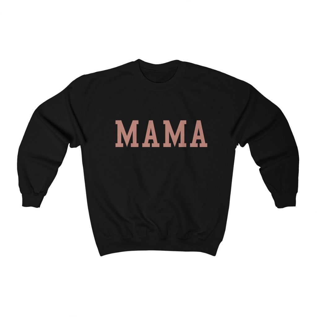 mama heavy crewneck sweater